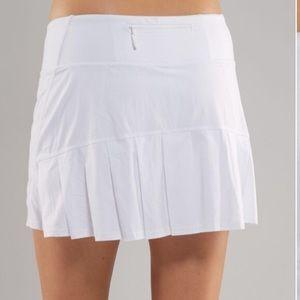 Lululemon Circuit Breaker Tennis Skirt White 6